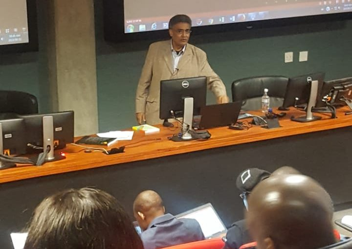 Prof. Mammo Lecturing in 10th All Africana Post Graduate academy